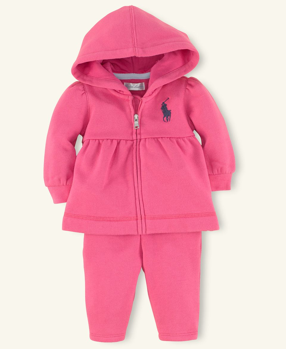 0aab5082b Ralph Lauren Baby Sets, Baby Girls Yummy Hoodie and Pant Set on ...