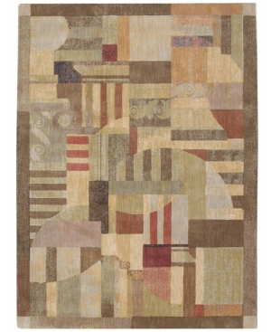 "Nourison Area Rug, Somerset ST22 Clarkstown Multi 7' 9"" x 10' 10"""