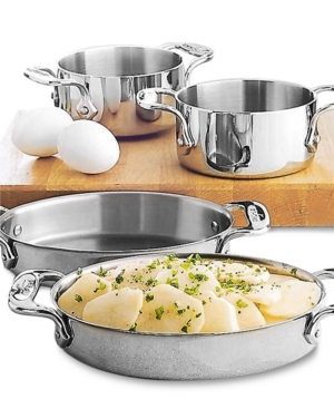 All-Clad Stainless Steel Oval Bakers, Set Of 2