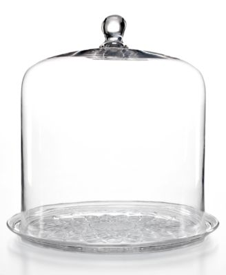 CLOSEOUT! Martha Stewart Collection Serveware, Bell Jar Dome with Plate