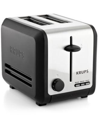 Krups KH742D50 Definitive Series Stainless Steel 2 Slice Toaster