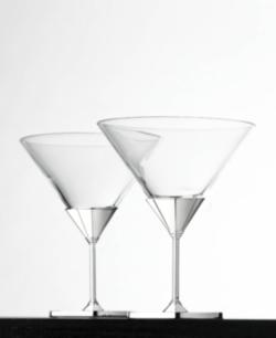 Vera wang challis martini glass pair news search - Vera wang martini glasses ...