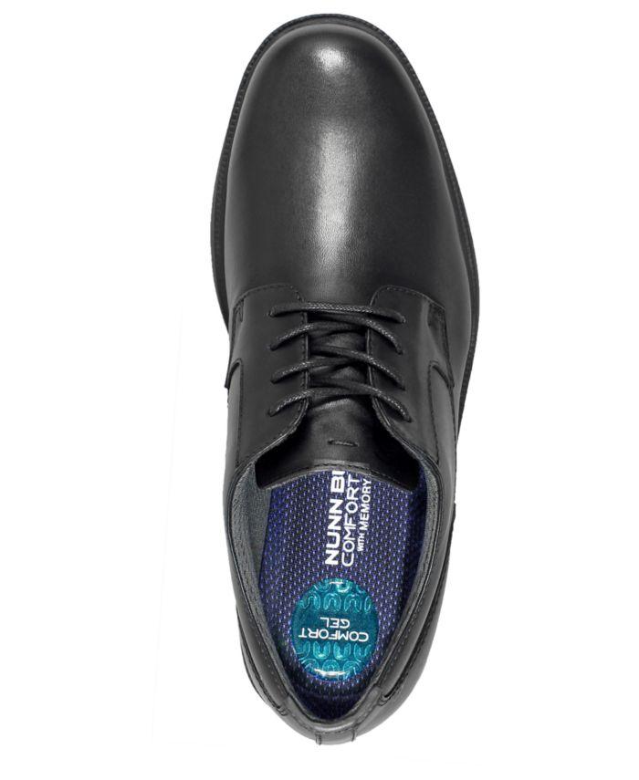 Nunn Bush Men's Marvin Street Oxfords with KORE Comfort Technology & Reviews - All Men's Shoes - Men - Macy's