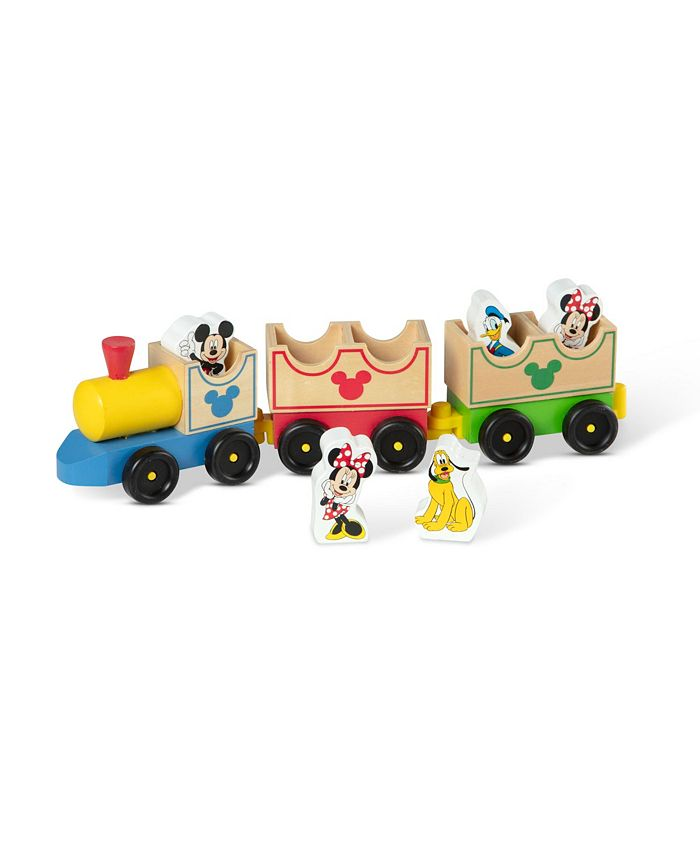 Melissa and Doug - Mickey Mouse  Friends Wooden All Aboard Train