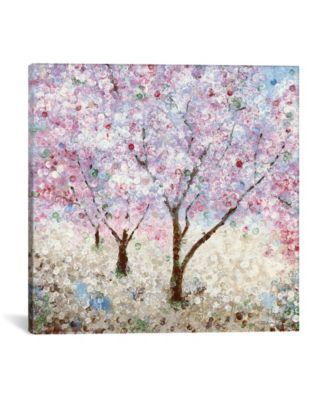 Cherry Blossom Festival Ii by Katrina Craven Wrapped Canvas Print - 37