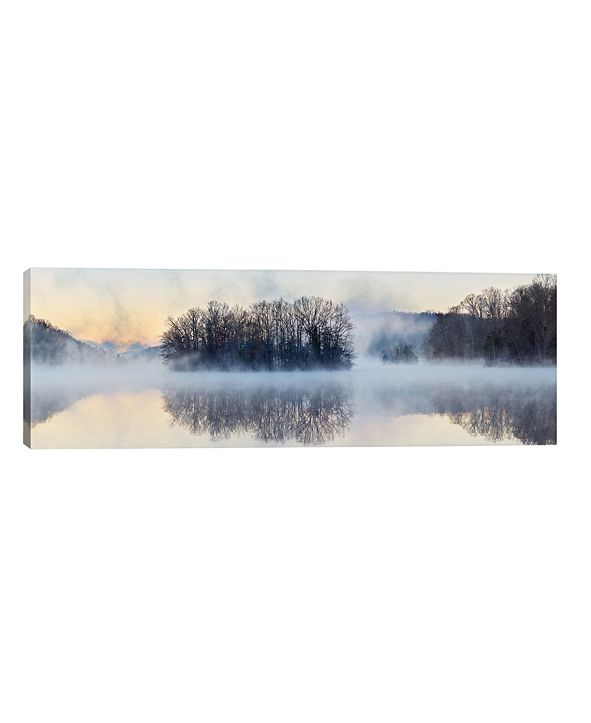 """iCanvas Scene On The Water VIII by James Mcloughlin Wrapped Canvas Print - 16"""" x 48"""""""