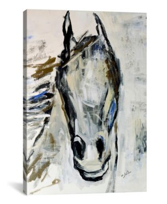 Picasso`S Horse I by Julian Spencer Wrapped Canvas Print - 26