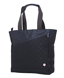 Token Quilted Grand Army Tote Bag