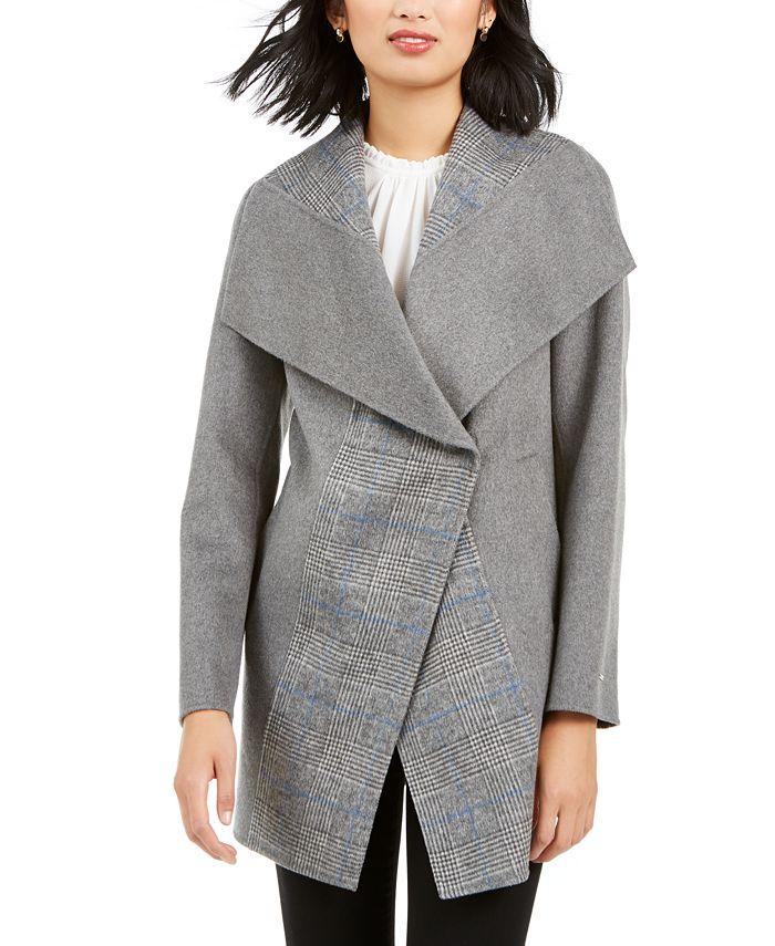 Tahari - Wing-Collar Coat