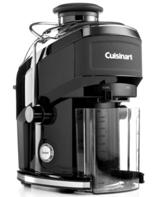 CLOSEOUT Cuisinart Black Matte CJE-500BW Juicer, Compact Extractor