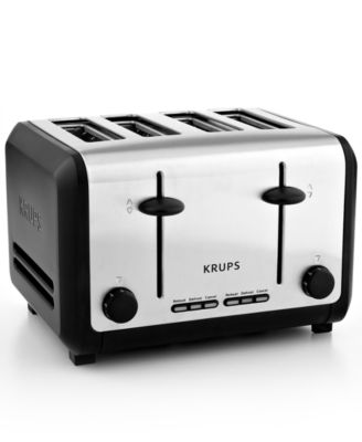 Krups KH744D50 Definitive Series Stainless Steel 4 Slice Toaster