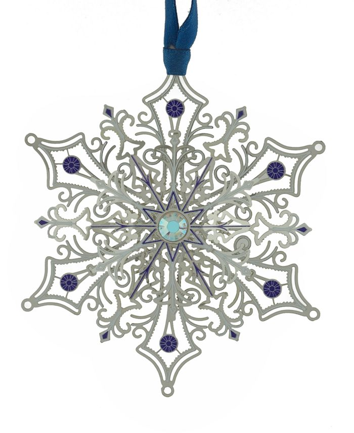 ChemArt - Glittering Silver Snowflake