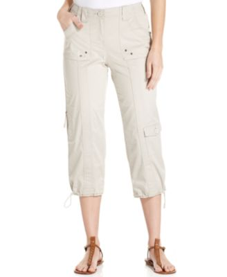 Image of Style & Co. Cargo Capri Pants, Only at Macy's