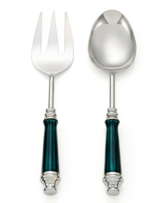 Simply Designz Serveware, Set of 2 Enamel Servers