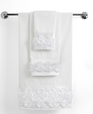 "avanti bath towels, rosie 16"" x 30"" hand towel"