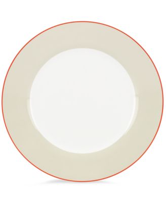 kate spade new york Dinnerware, Hopscotch Drive Taupe Dinner Plate