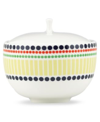 kate spade new york Dinnerware, Hopscotch Drive Sugar Bowl