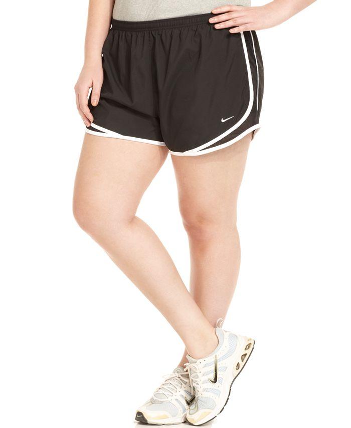 Nike - Plus Size Shorts, Dri-FIT Tempo Track