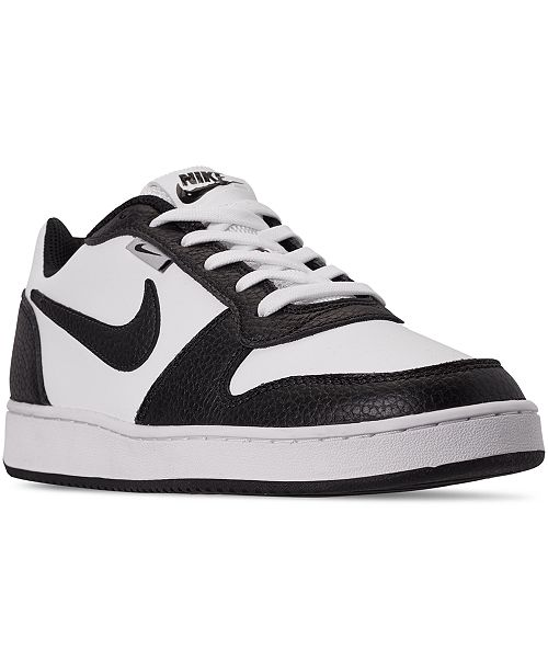niña Amarillento prima  Nike Men's Ebernon Low Premium Casual Sneakers from Finish Line & Reviews -  Finish Line Athletic Shoes - Men - Macy's