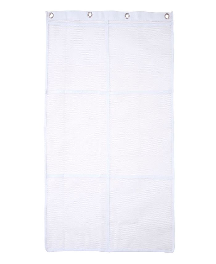 Kenney - 6-Pocket Hanging Mesh Shower Organization Caddy