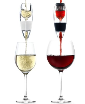 Vinturi Barware, Red and White Wine Aerator Set
