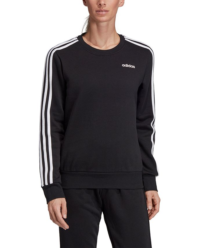 adidas - Essentials 3-Stripe Fleece Sweatshirt