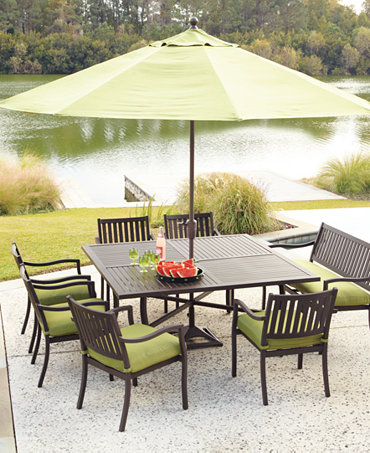 Madison Outdoor Patio Furniture Dining Sets Pieces Furniture Macy