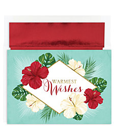 Masterpiece Studios Tropical Floral Holiday Boxed Cards