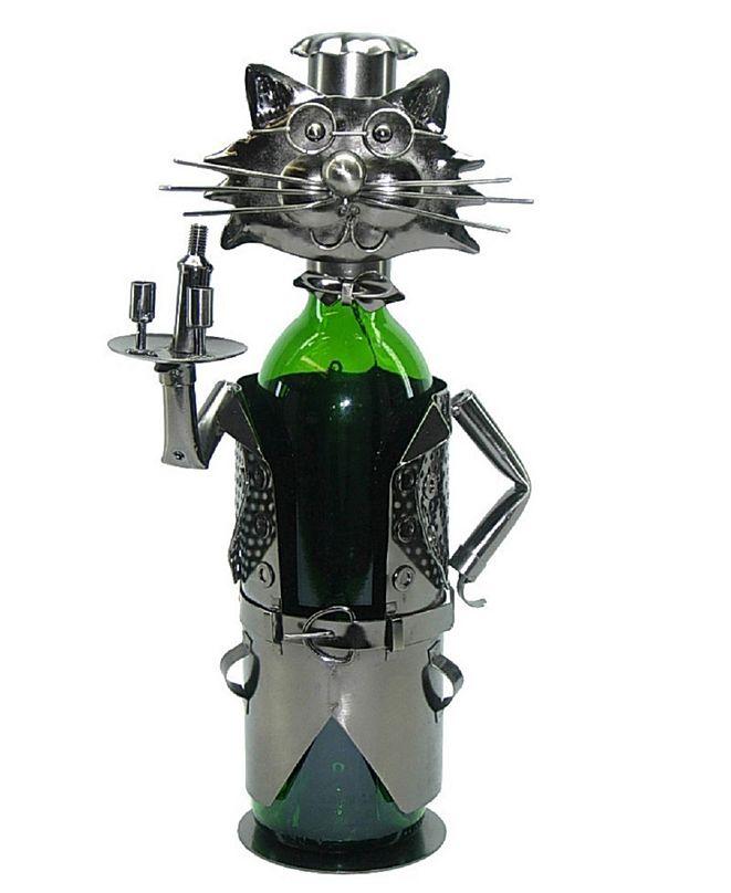 Wine Bodies Cat Waiter Wine Bottle Holder