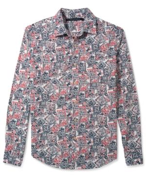 Sean John Shirt Bandana Print Shirt