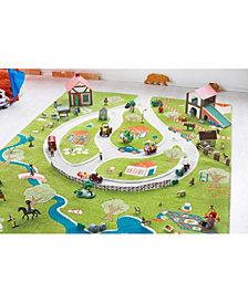 IVI Farm 3D  Kids Play Rug Playmat