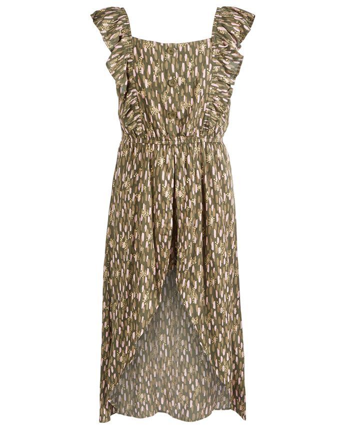 Epic Threads Big Girls Printed Walkthrough Romper Dress Created For Macy S Reviews All Girls Dresses Kids Macy S
