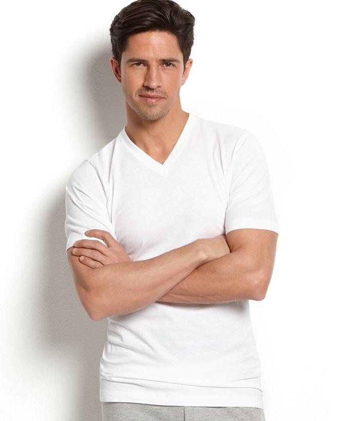 Jockey - Men's Slim-Fit V-Neck T-Shirt