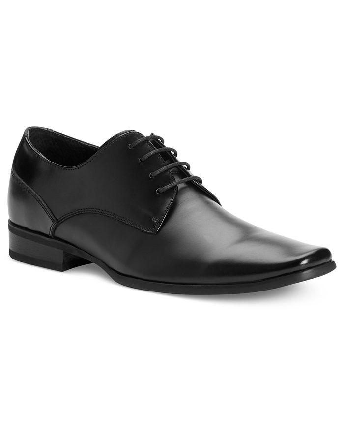 Calvin Klein - Brodie Leather Oxfords