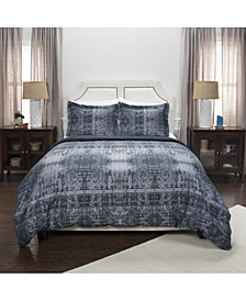 Riztex USA Winston Willow Queen 3 Piece Duvet Set