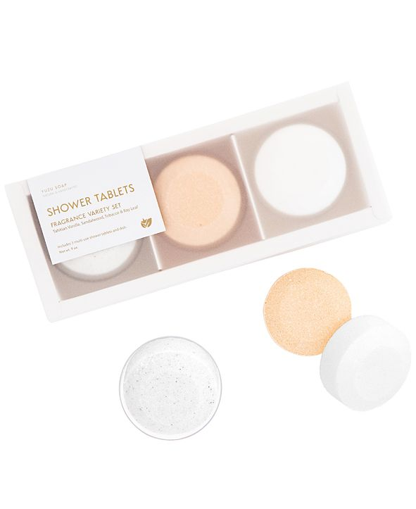 Yuzu Soap 3-Pc. Fragrance Variety Shower Tablets Set