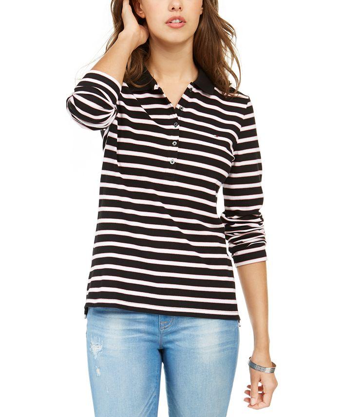 Tommy Hilfiger - Long-Sleeve Polo Shirt