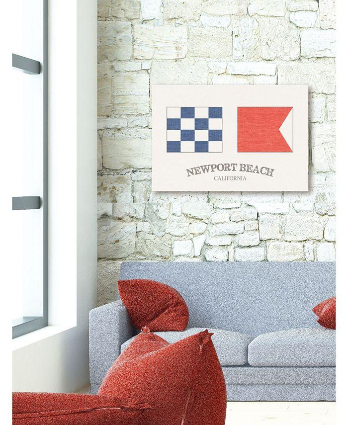 Stupell Industries Newport Beach Nautical Flags Wall Plaque Art 10 X 15 Reviews All Wall Décor Home Decor Macy S