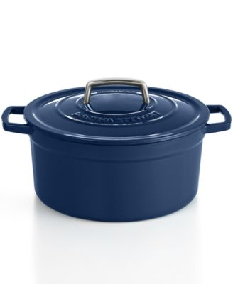 Martha Stewart Collection Collector's Enameled Cast Iron 6 Qt. Round Casserole