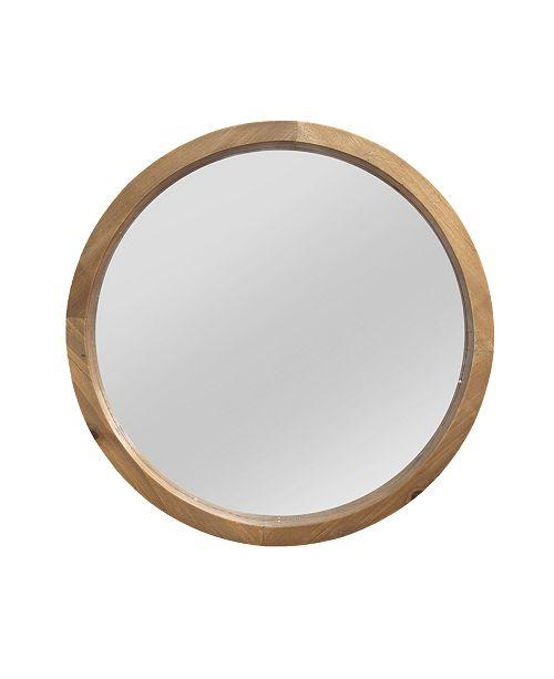 Stratton Home Decor Stratton Home Decor Maddie Wood Mirror Reviews All Mirrors Home Decor Macy S