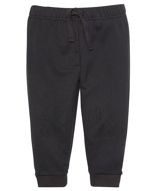 First Impressions Baby Boys Paw Knee Jogger, Created for Macy's