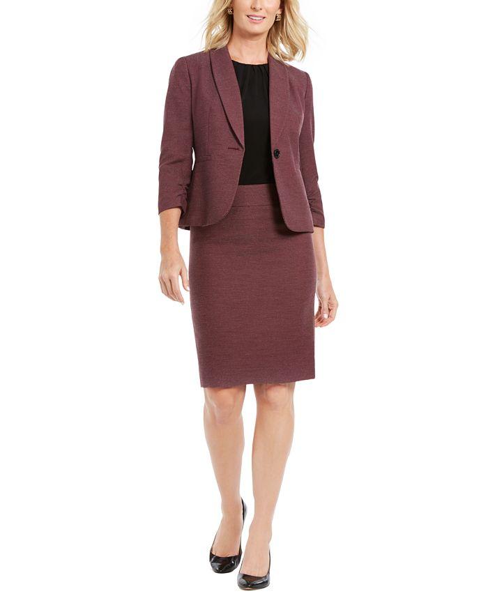 Le Suit - Single-Button Skirt Suit