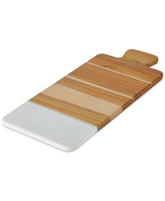 Anolon - Teak & Marble Cutting Board