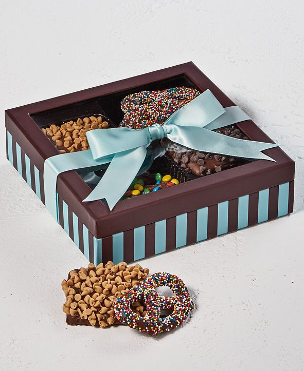 Chocolate Works 12-Pc. Pretzels & Graham Crackers Gift Box