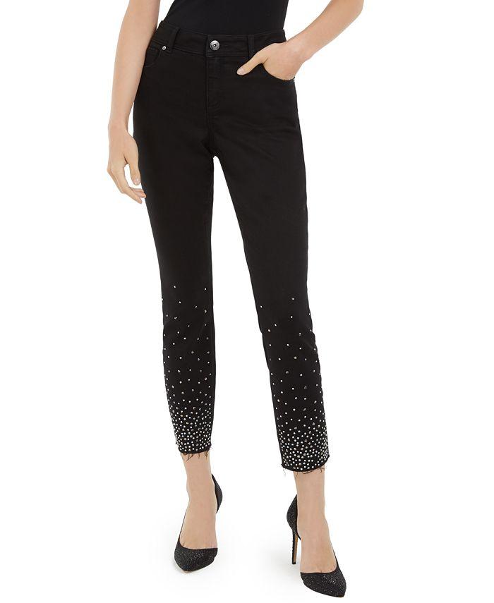 INC International Concepts - Studded Skinny Jeans