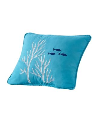 """Welcome Cove Reef Pillow, 18"""" x 18"""""""