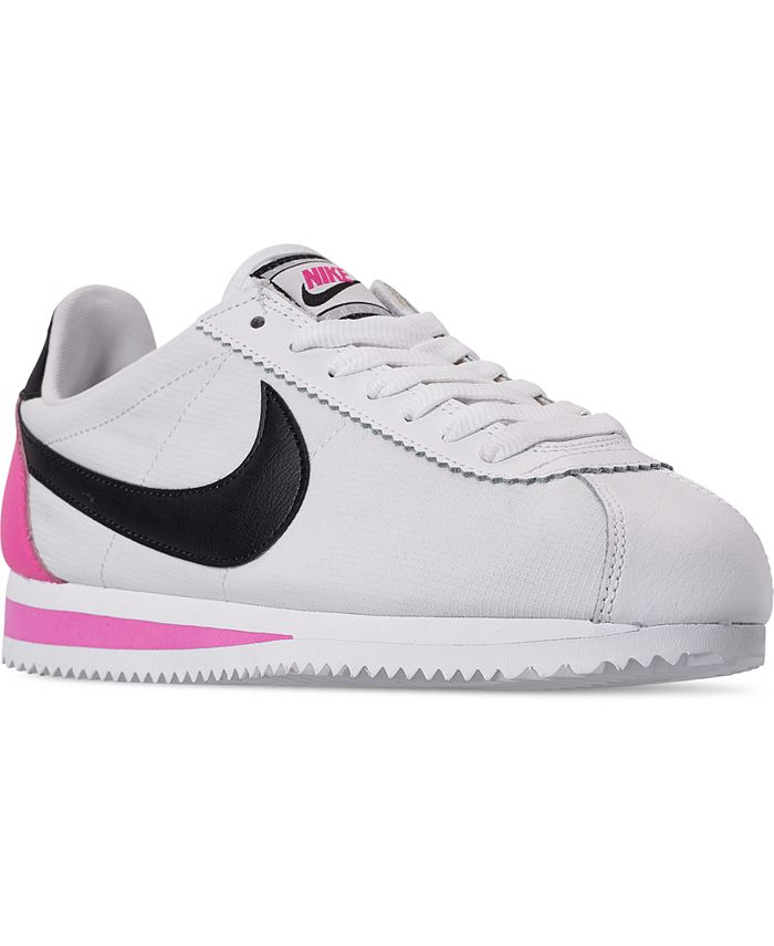 Nike - Women's Classic Cortez Premium Casual Sneakers from Finish Line
