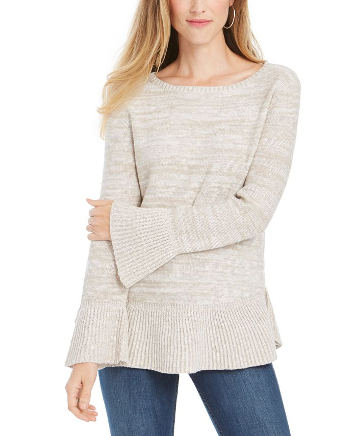Style & Co - Bell Sleeve Knit Sweater