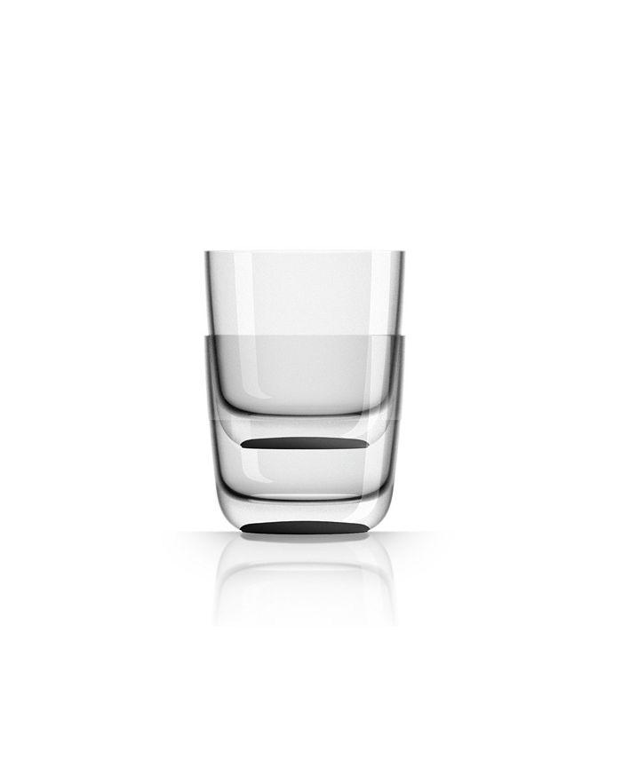 Marc Newson - Whisky Tumbler with black non-slip base, Set of 2