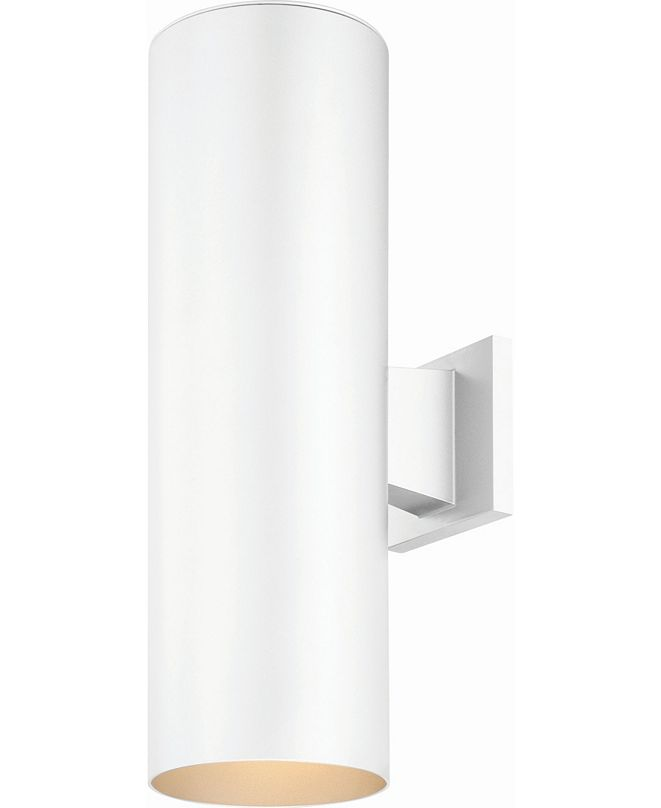 Volume Lighting 2-Light Cylinder Wall Sconce